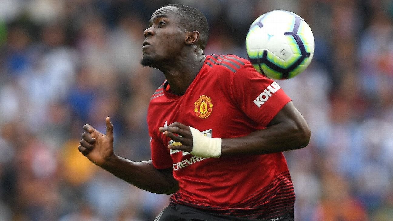 Eric Bailly was all over the place in Manchester United's loss at Brighton.