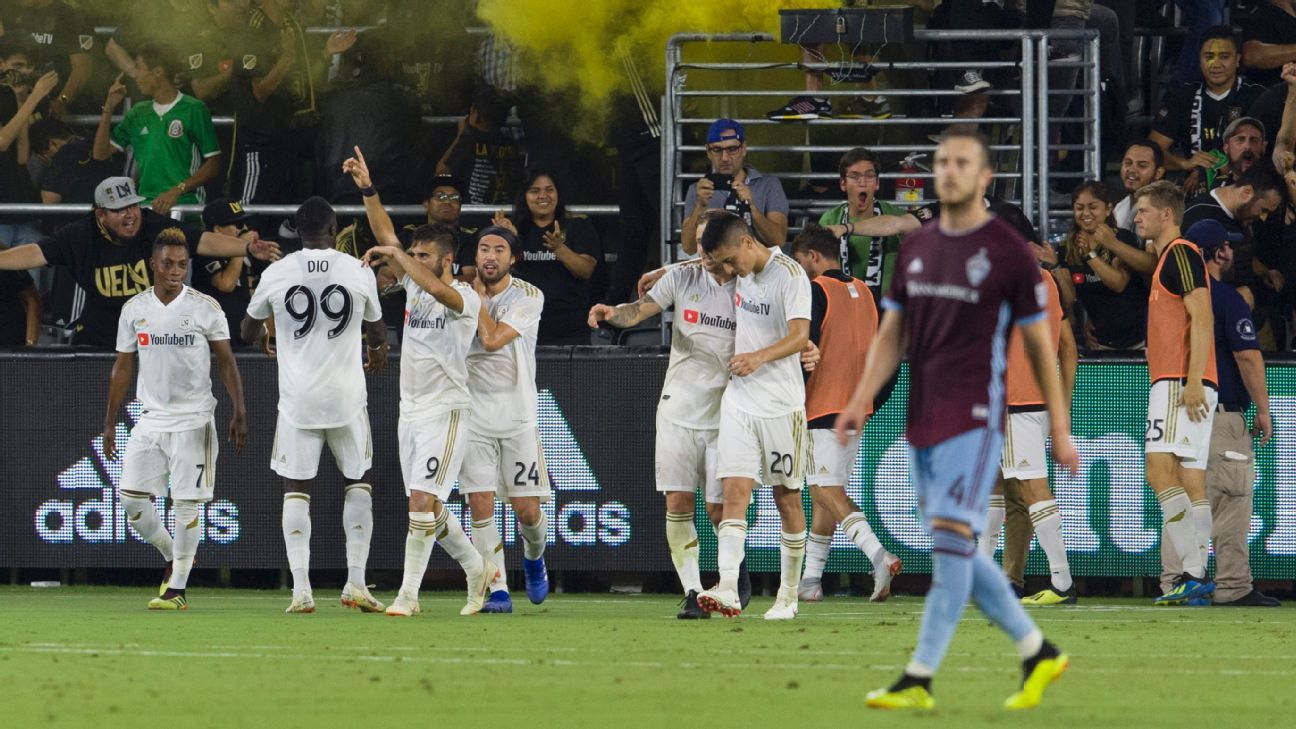 LAFC resumes home success with shutout of the Colorado Rapids