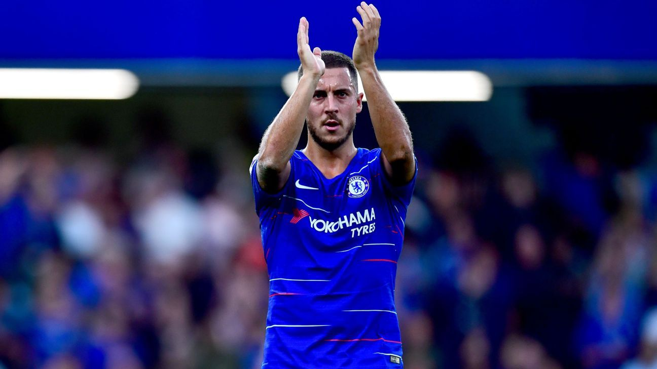 Eden Hazard has long been linked with Real Madrid but Chelsea are determined to keep him.