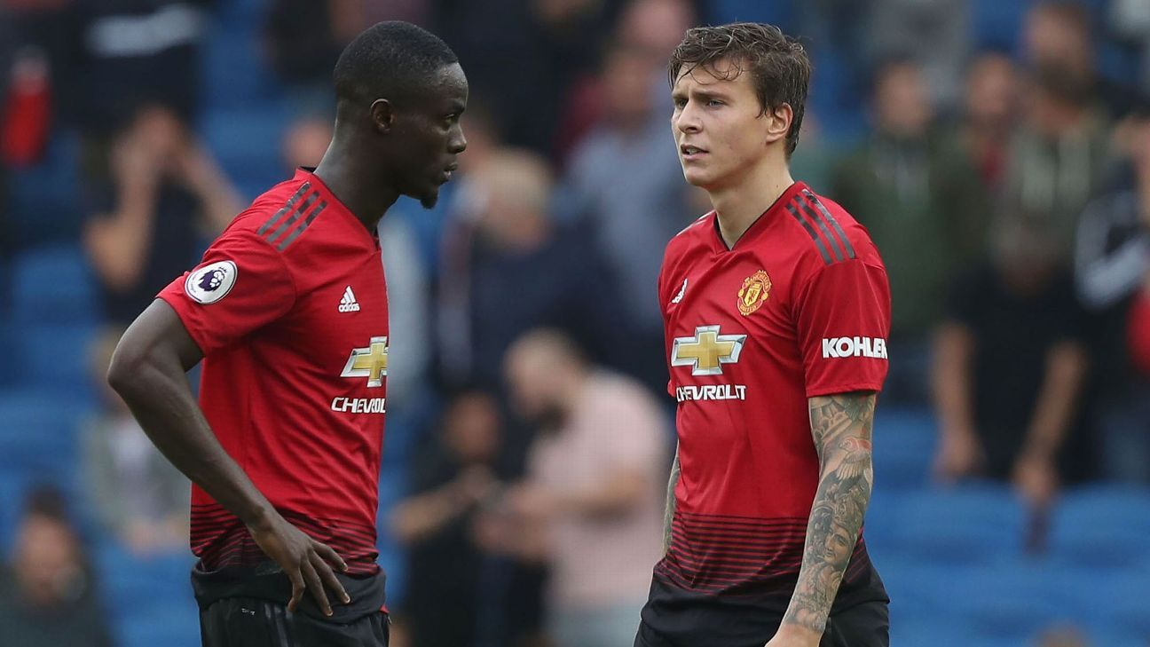 Eric Bailly and Victor Lindelof are both Jose Mourinho buys but have failed to fully convince.