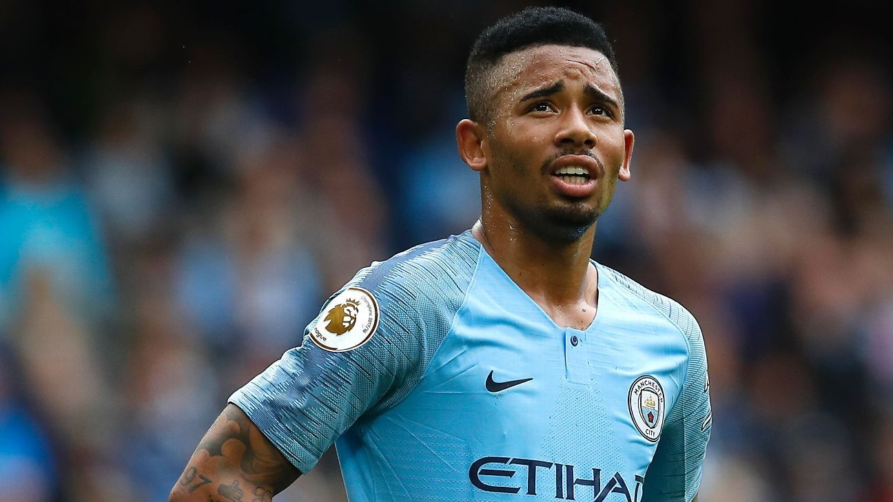 Gabriel Jesus has been dropped from the Brazil squad.