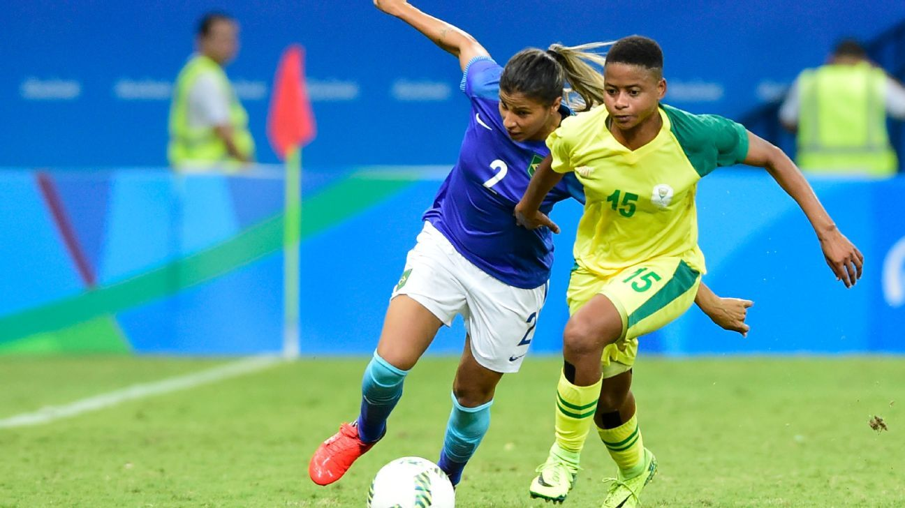 Refiloe Jane is South Africa's vice-captain, and played at the 2016 Olympics in Rio.