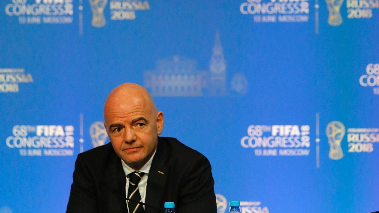 Infantino's public calls for transparency helped get him elected but the recent ethics code update shows that he's interested in the opposite.