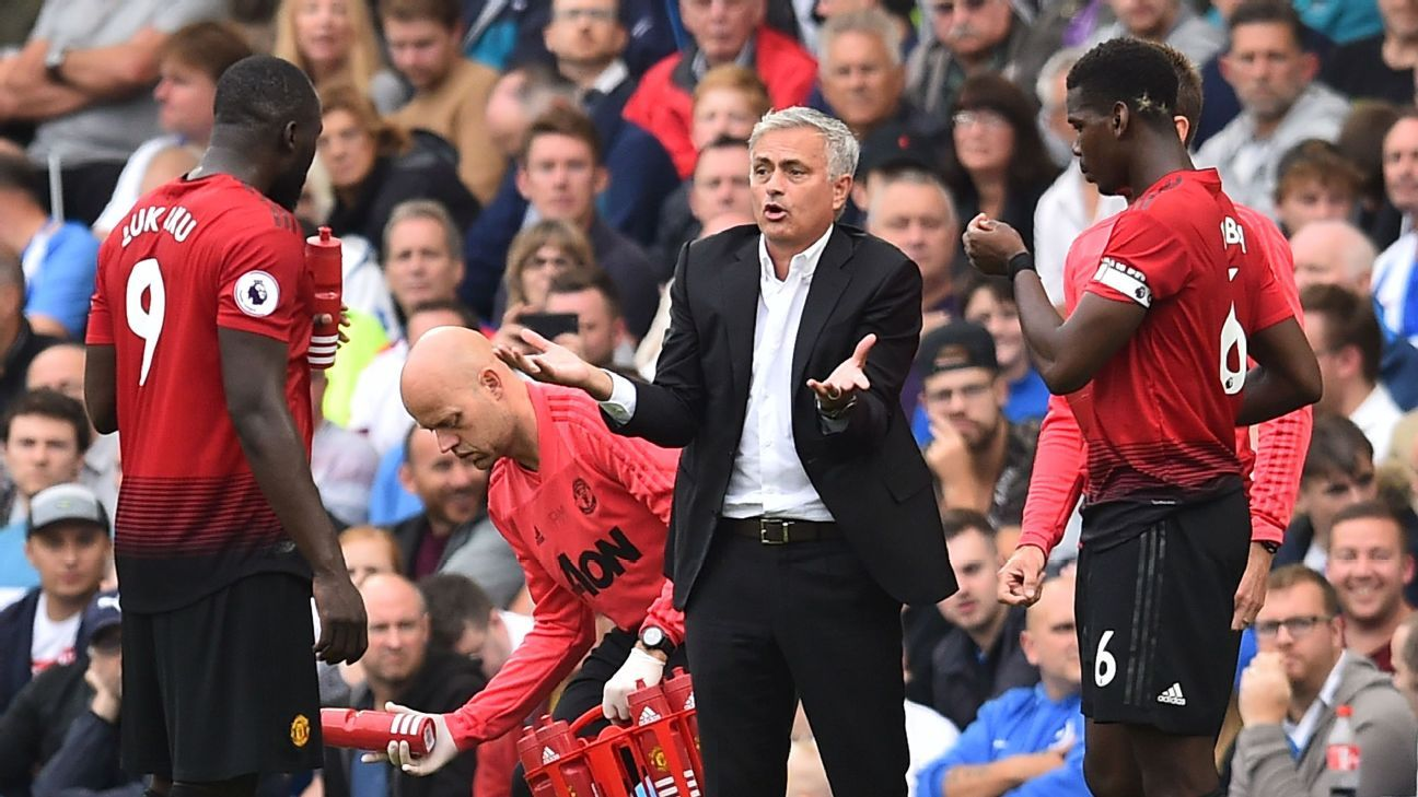 Sunday's defeat at Brighton was a low point during Jose Mourinho's time as manager.