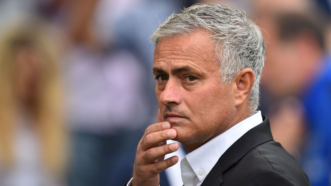 Jose Mourinho's side lost to Brighton on Sunday.