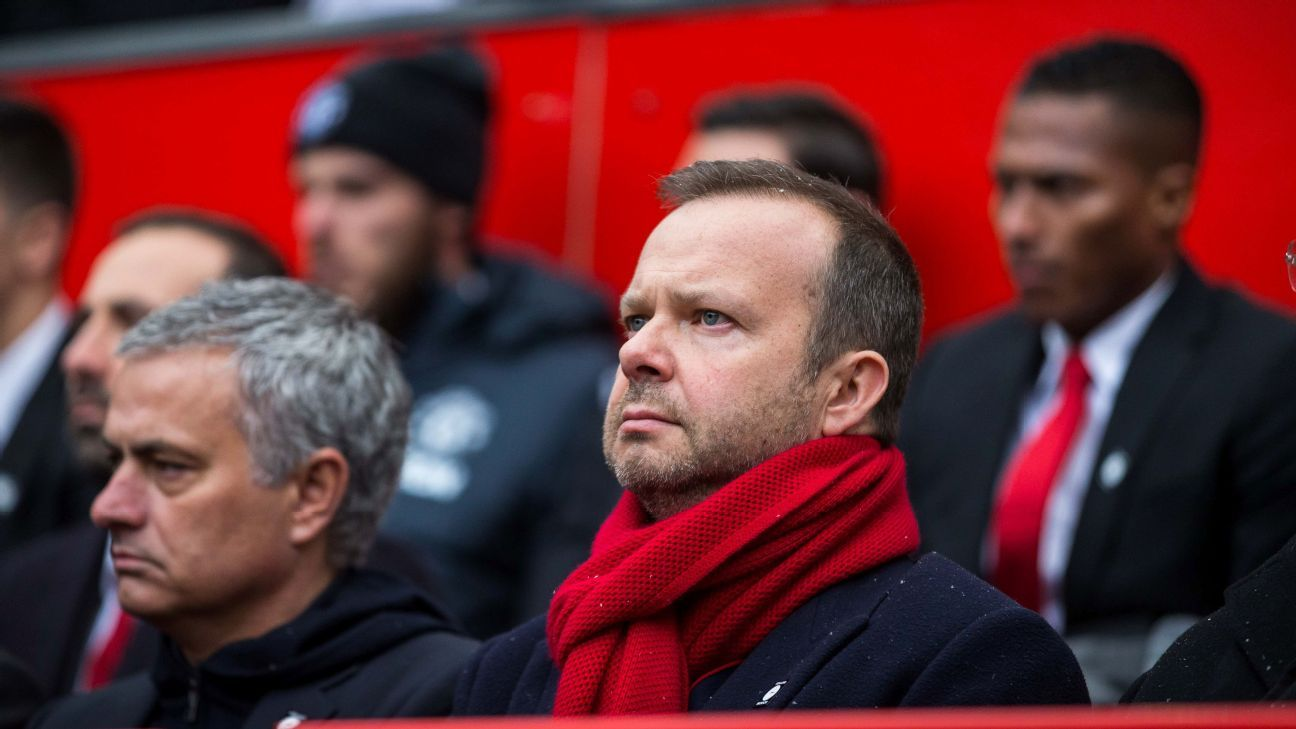 Jose Mourinho and Ed Woodward have clashed over Manchester United's transfer policy.