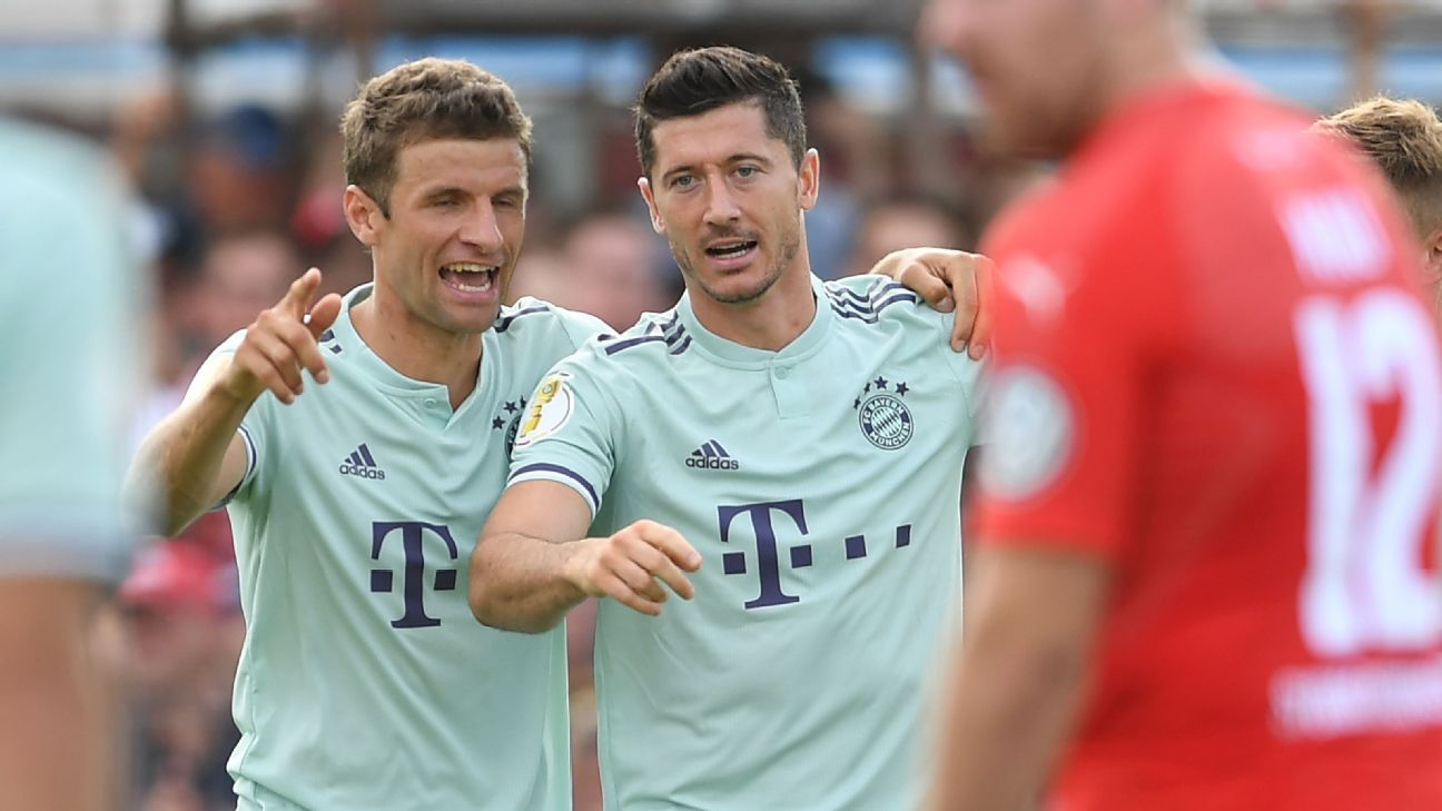 The league title is destined to go to Bayern Munich again this season as the chasing pack are all too flawed to mount a challenge.