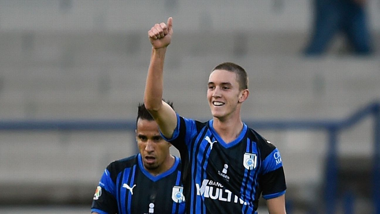17-year-old midfielder Marcel Ruiz's goal gave Queretaro a 1-0 win over Pumas on Tuesday.