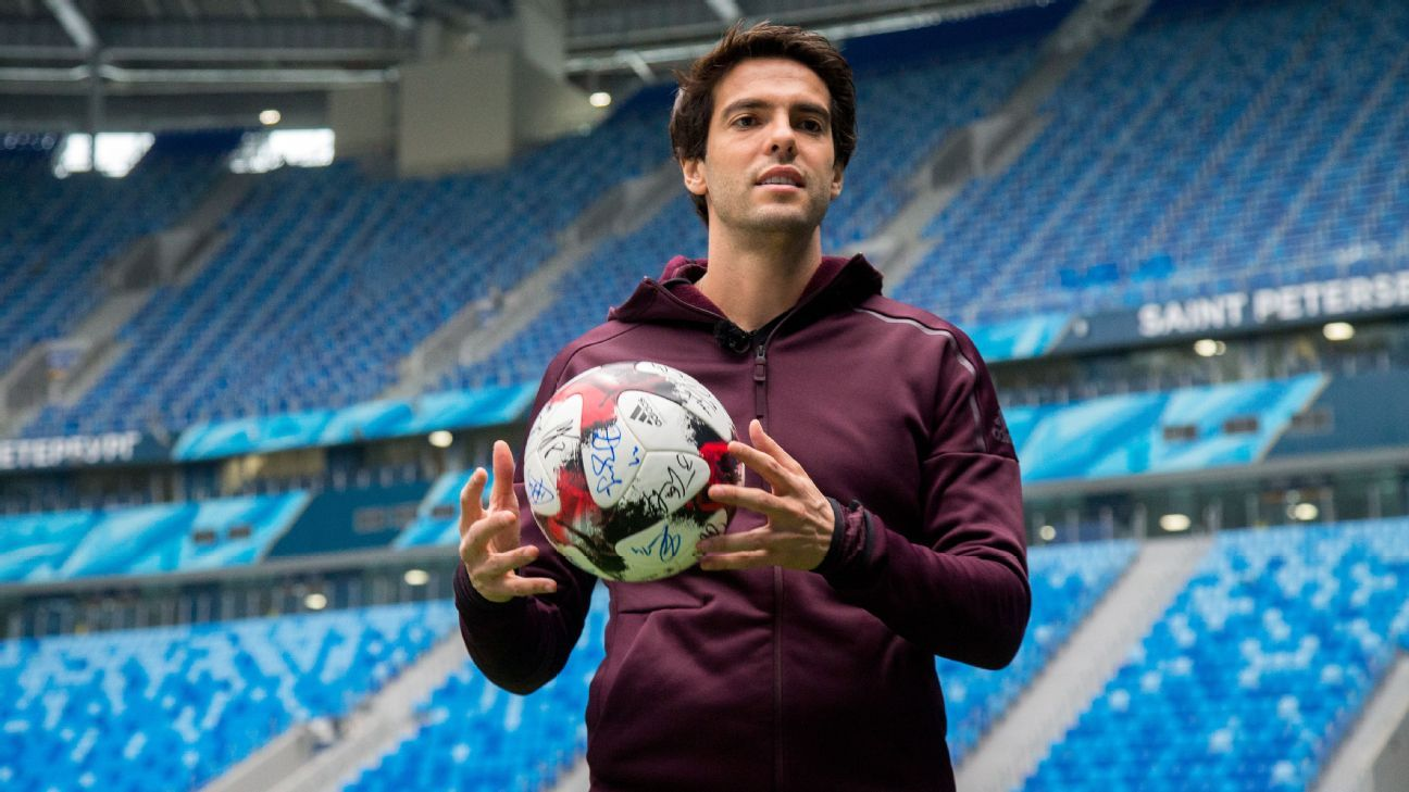 Kaka has said his priority is to spend time with his family in Brazil.