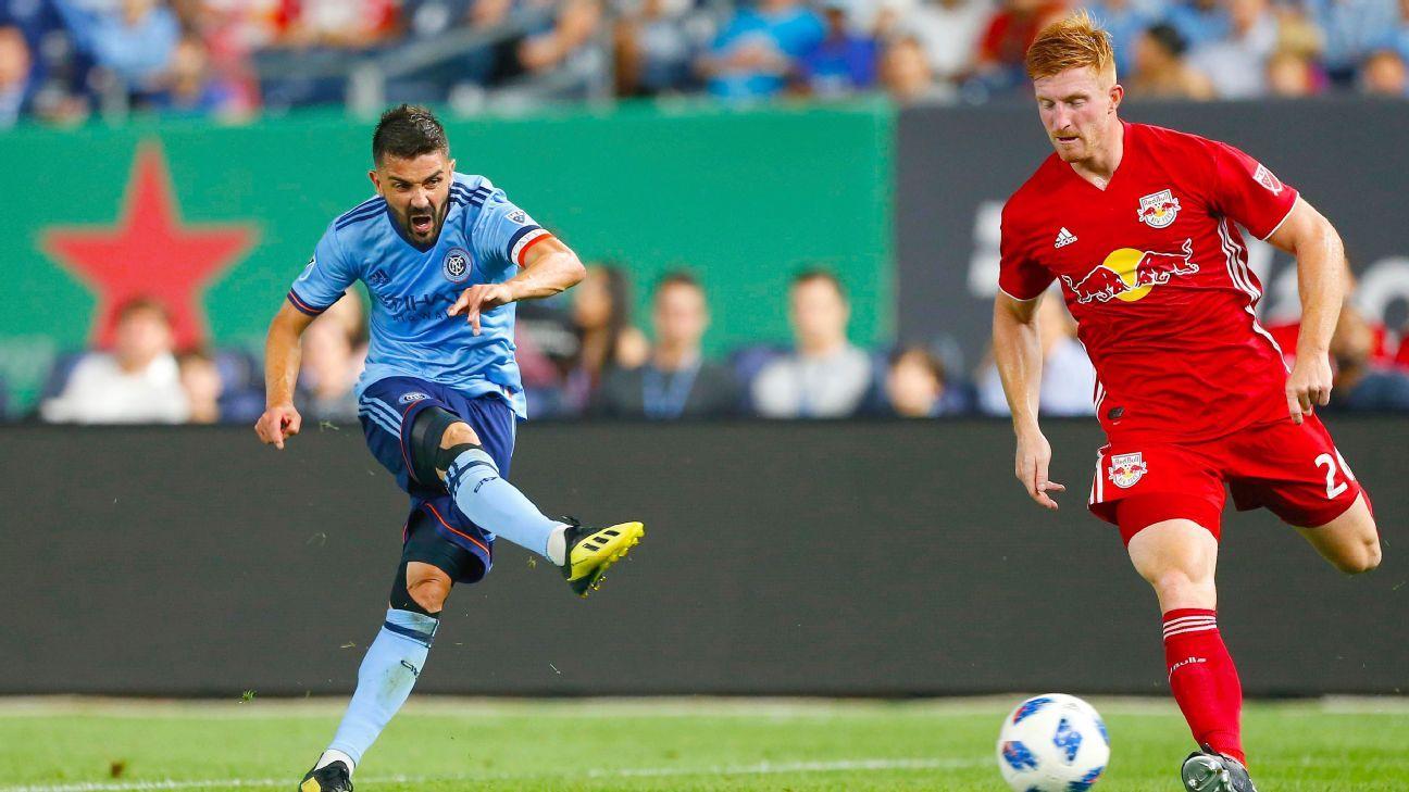 David Villa, BWP score as nine-man NYCFC draw with NY Red Bulls