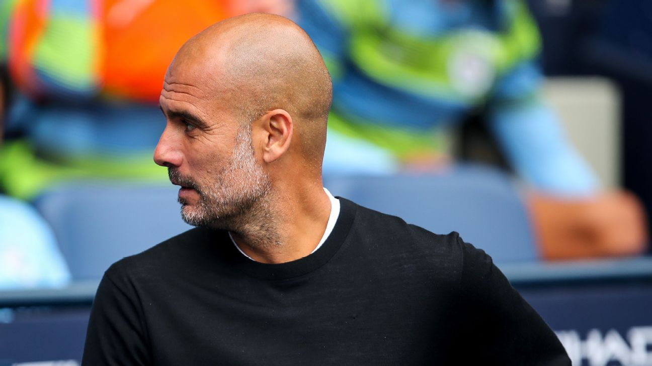 Who might Pep Guardiola see when he looks over his shoulder this season?