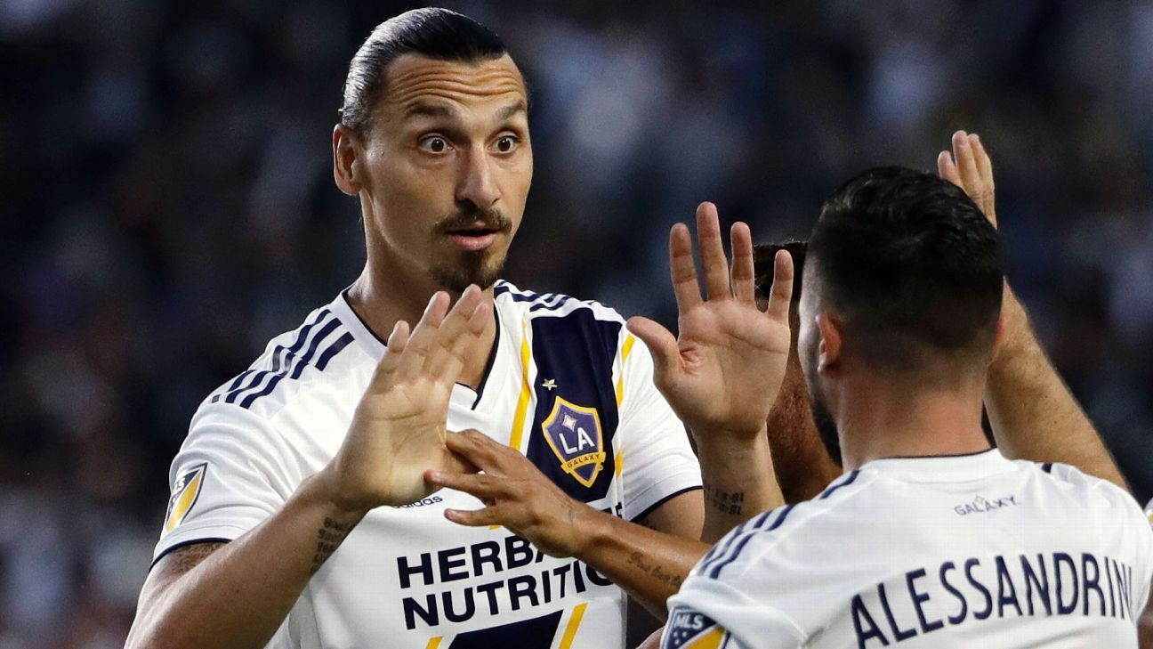 LA Galaxy to re-sign Zlatan Ibrahimovic as Designated Player - sources