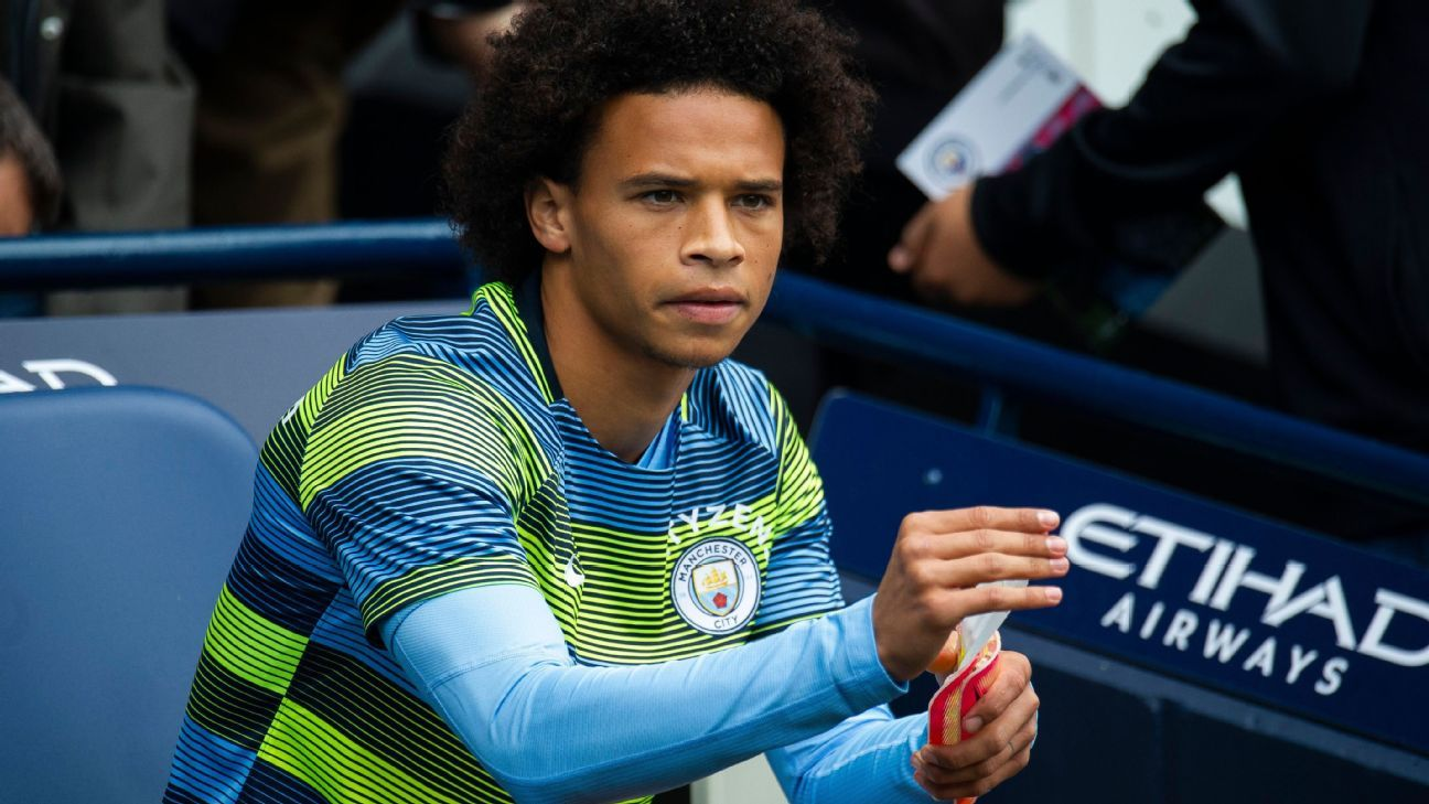 Leroy Sane could start when Manchester City visit Wolves.