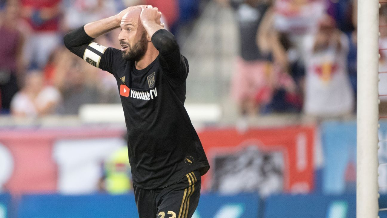 Laurent Ciman has been linked with a move away from LAFC.