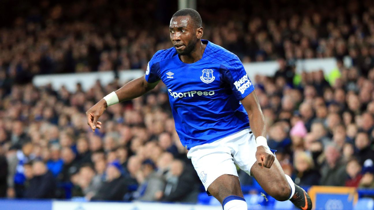 Yannick Bolasie found himself further down the pecking order at Everton.