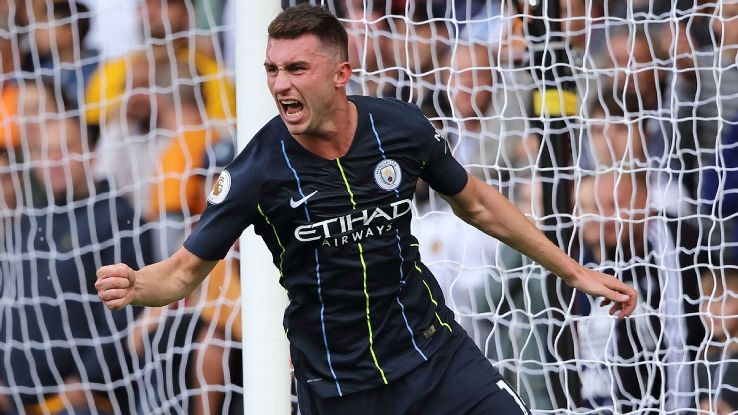Aymeric Laporte scored the equaliser as Manchester City were held at Wolves.