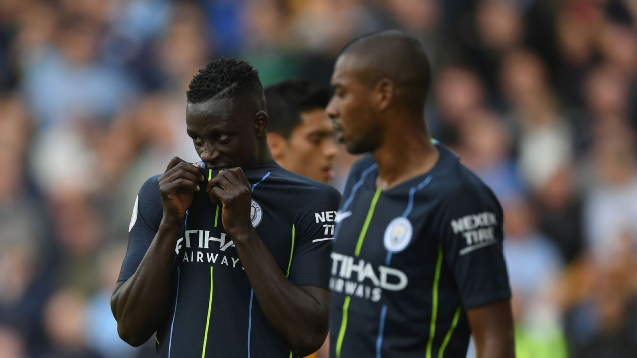 Benjamin Mendy has started the season brightly but was off the pace vs. Wolves.