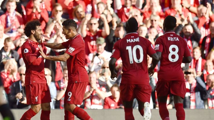 Liverpool took full advantage of Man City's slip up, beating Brighton to move top of the table.