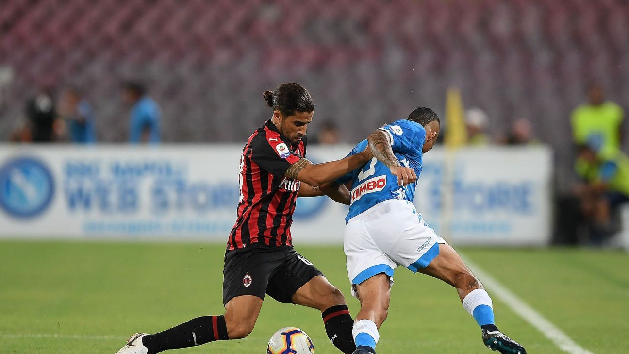 Ricardo Rodriguez's Milan career continues to be defined by inconsistency.