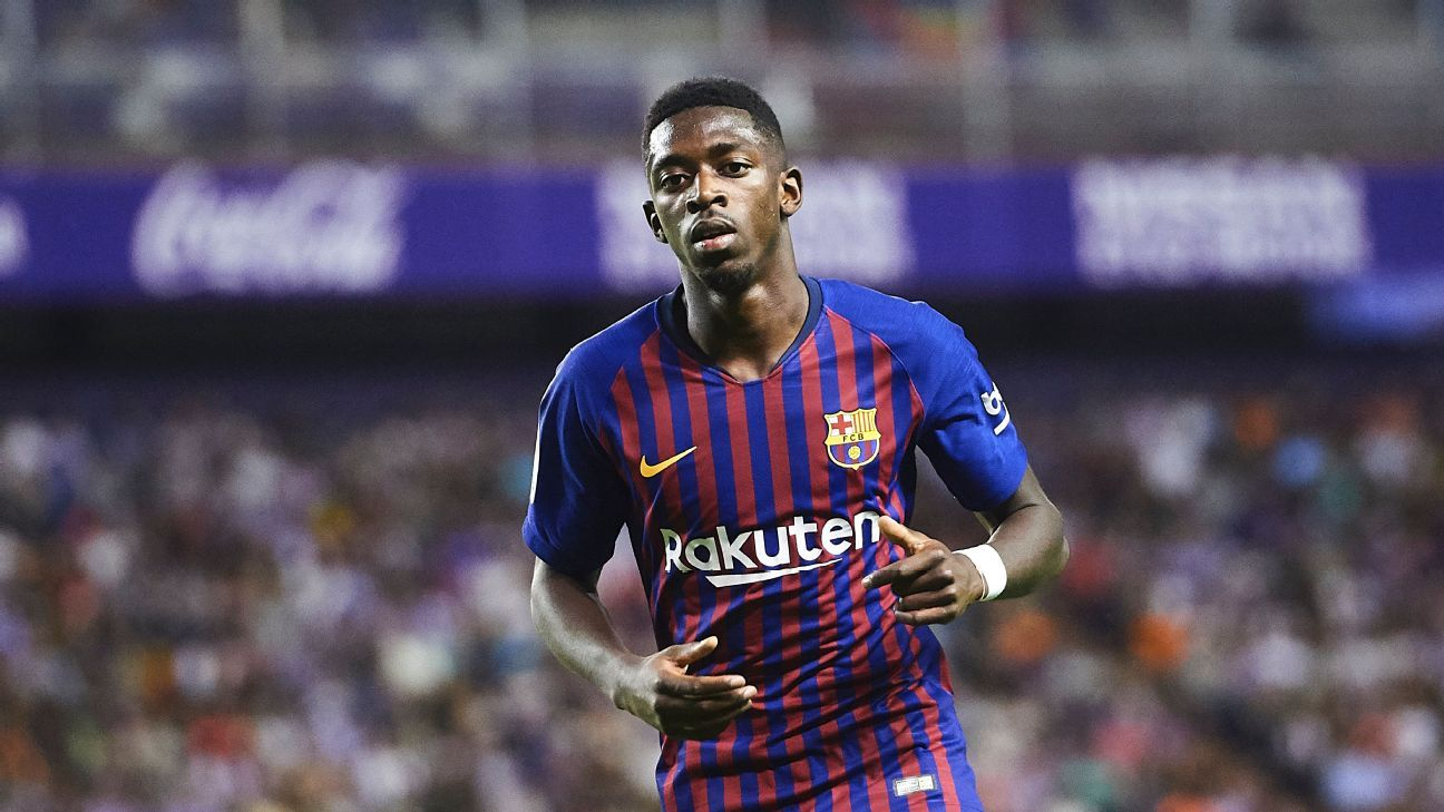 Ousmane Dembele has been Barcelona's brightest light so far with two goals in three games over all competitions.