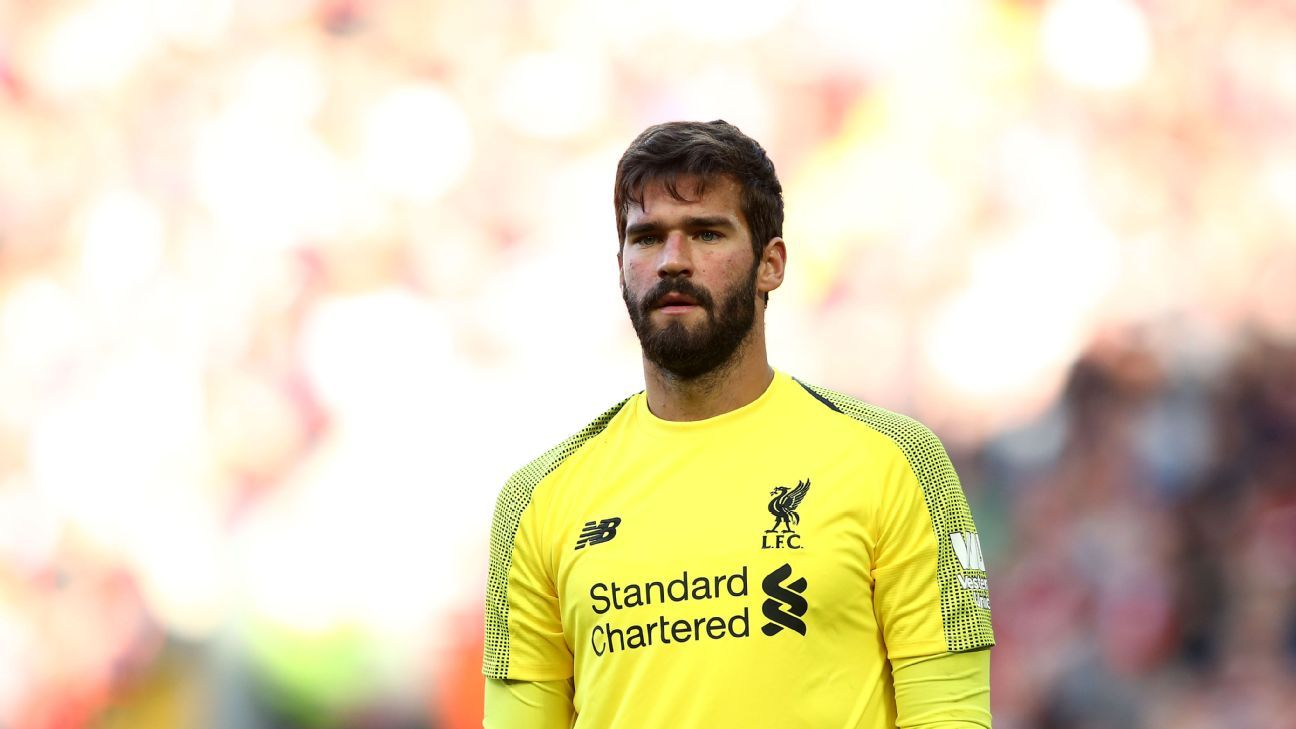 Alisson is yet to concede a competitive goal since joining Liverpool.