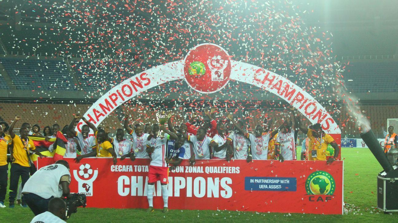 Uganda Cubs celebrate AFCON U-17 qualification