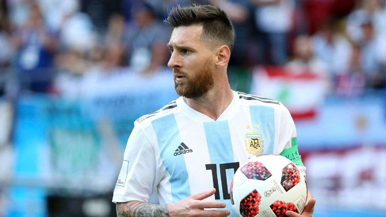 Lionel Messi has never won a major trophy with Argentina.
