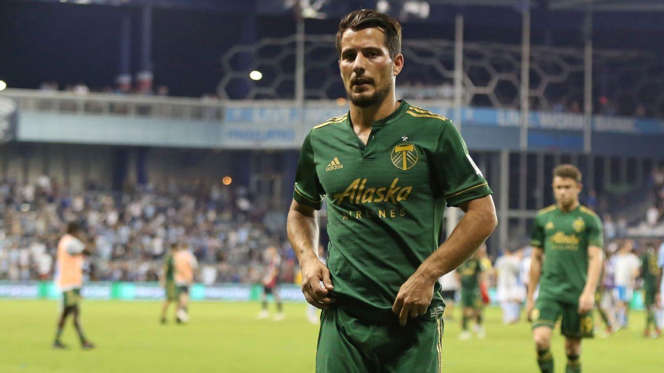 Portland Timbers midfielder Sebastian Blanco.