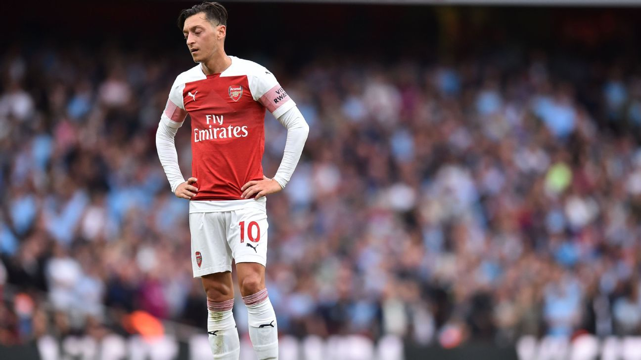 Mesut Ozil has been missing at key moments for Arsenal.