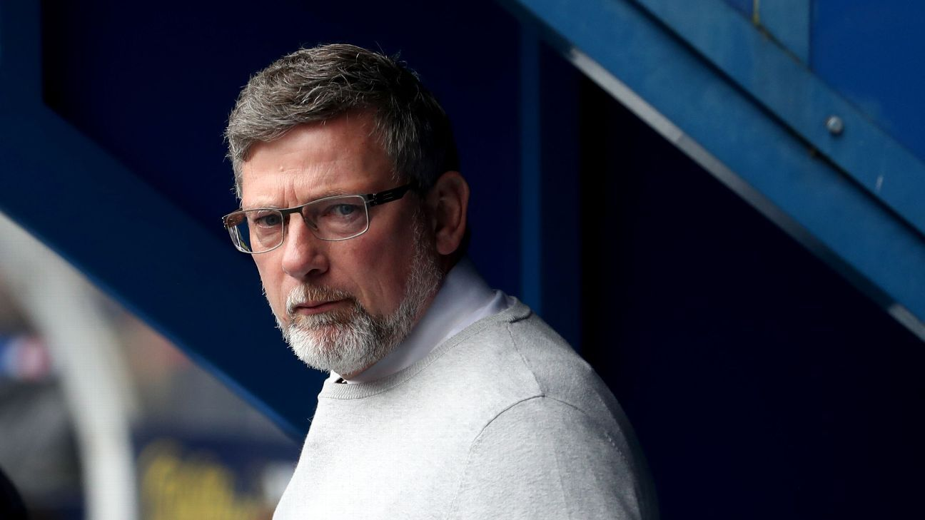 Heart of Midlothian manager Craig Levein.