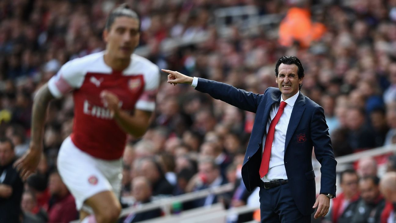 Unai Emery didn't get to really enjoy his first Premier League win with Arsenal given the growing whispers about his star player, Mesut Ozil.