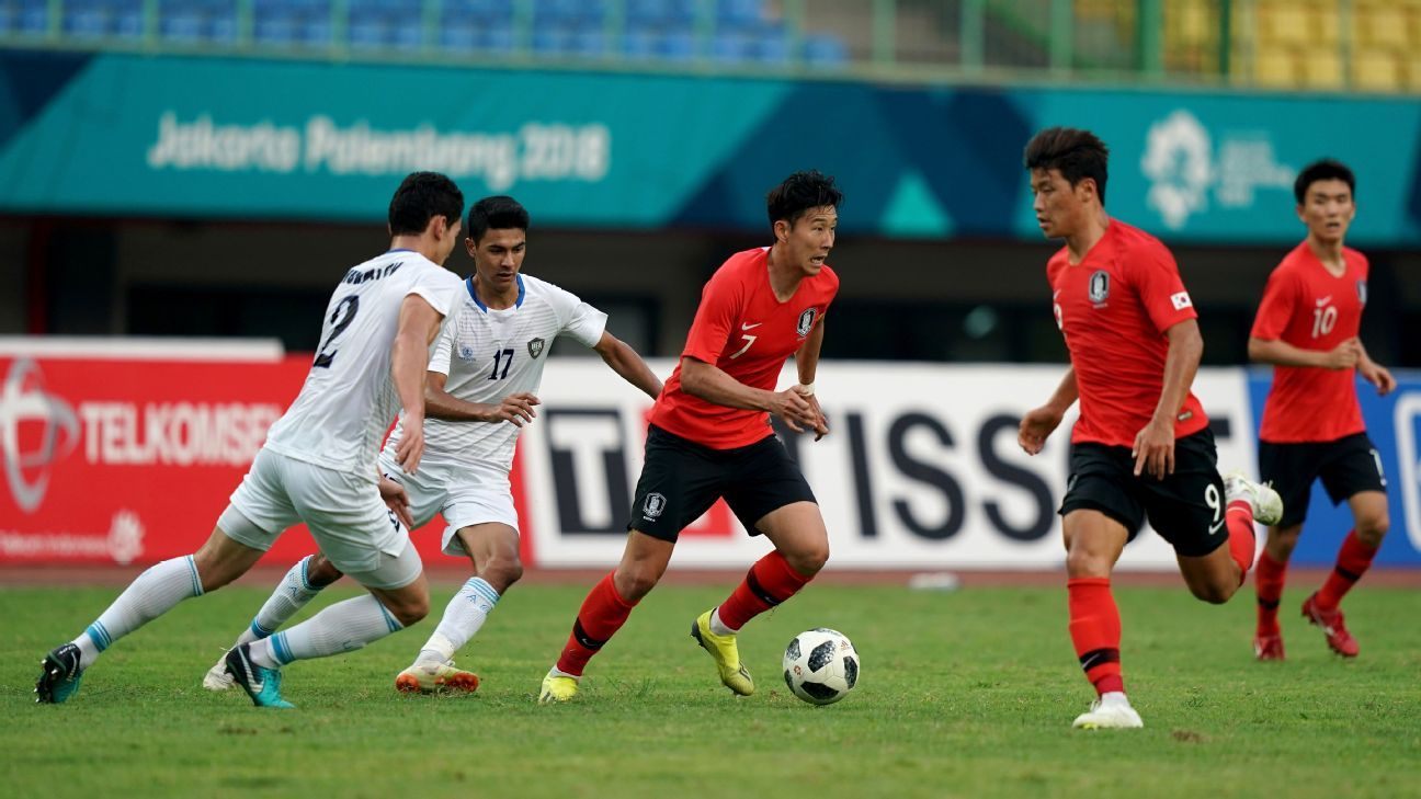 Son Heung-min is determined to win gold for South Korea at the 2018 Asian Games and gain exemption from military service.
