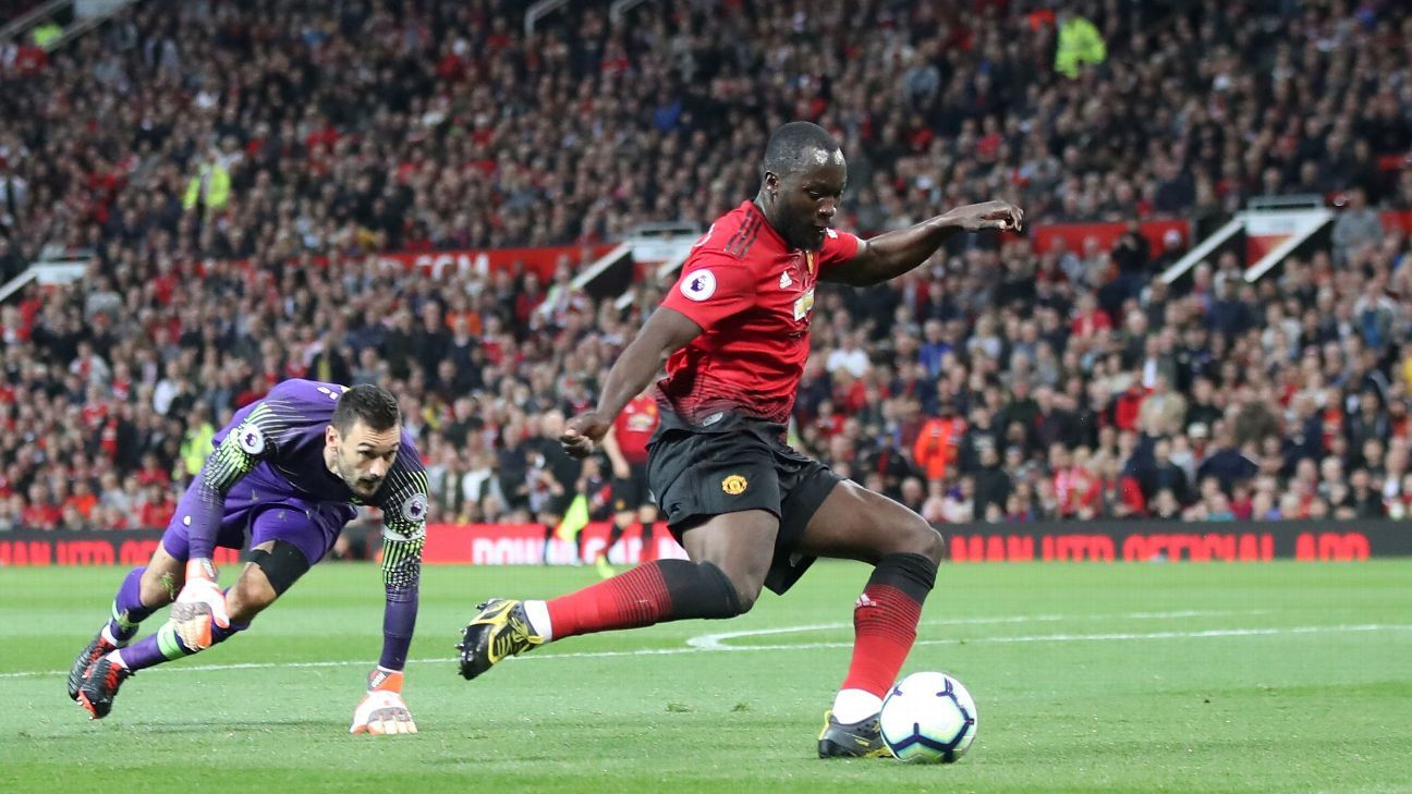 Lukaku's wastefulness in front of goal proved costly as Tottenham ran out deserved winners in the second half.