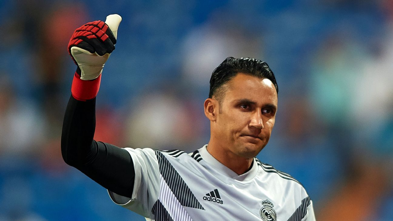 Real Madrid goakeeper Keylor Navas has been linked with a January move to Arsenal