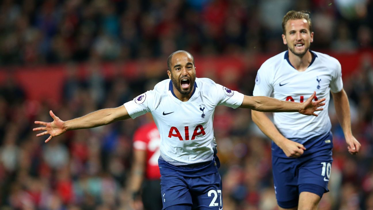 Tottenham wrapped up an emphatic win at Man United to show that they could push for the title this season.
