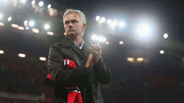 Manchester United's Jose Mourinho after the Premier League defeat to Tottenham Hotspur.