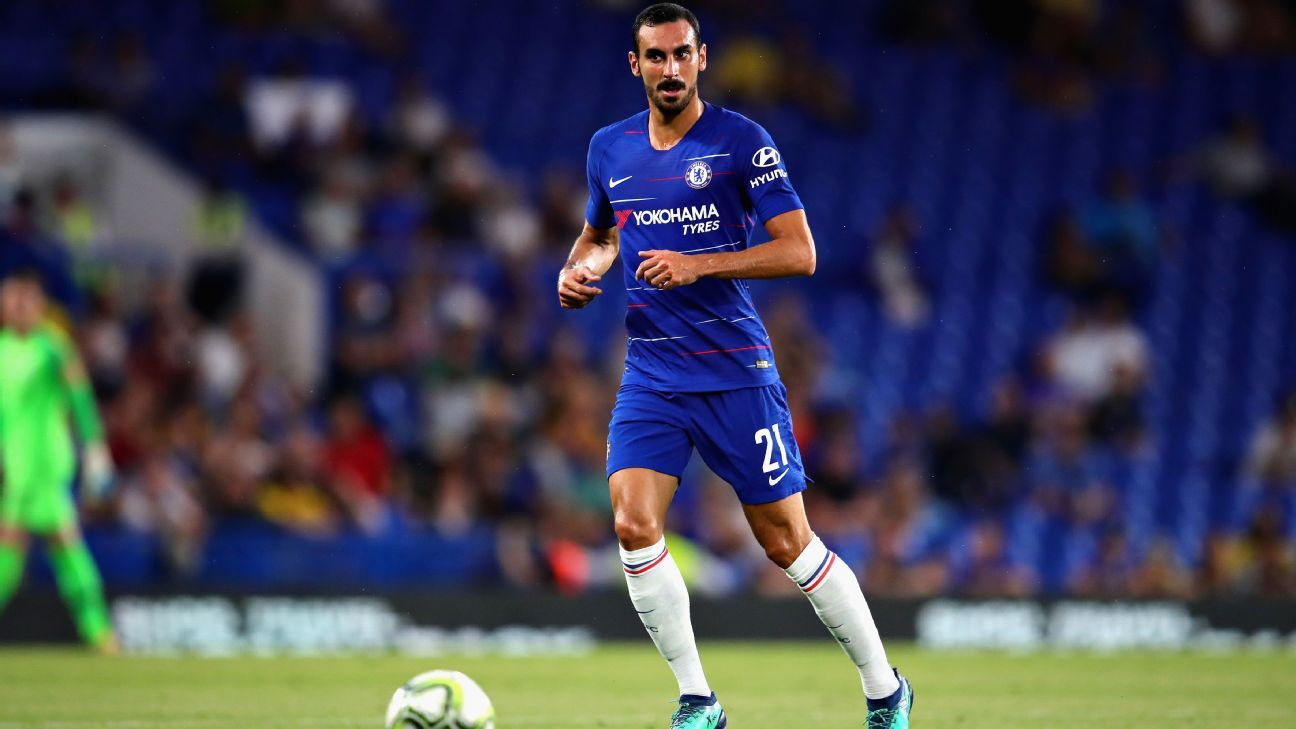 Davide Zappacosta is not first choice at Chelsea.