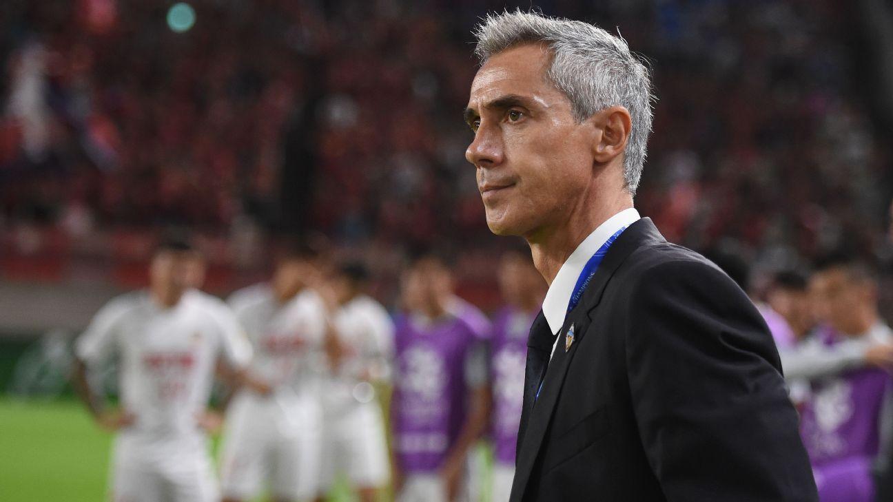 Tianjin Quanjian head coach Paulo Sousa