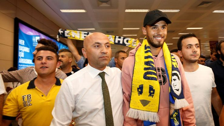 Diego Reyes will hope his new move to Fenerbahce will help jumpstart his club career again.