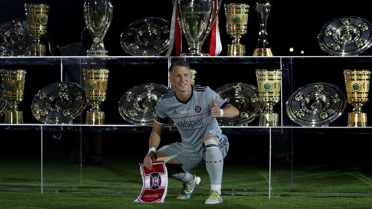 Bastian Schweinsteiger scores to cap Bayern Munich testimonial