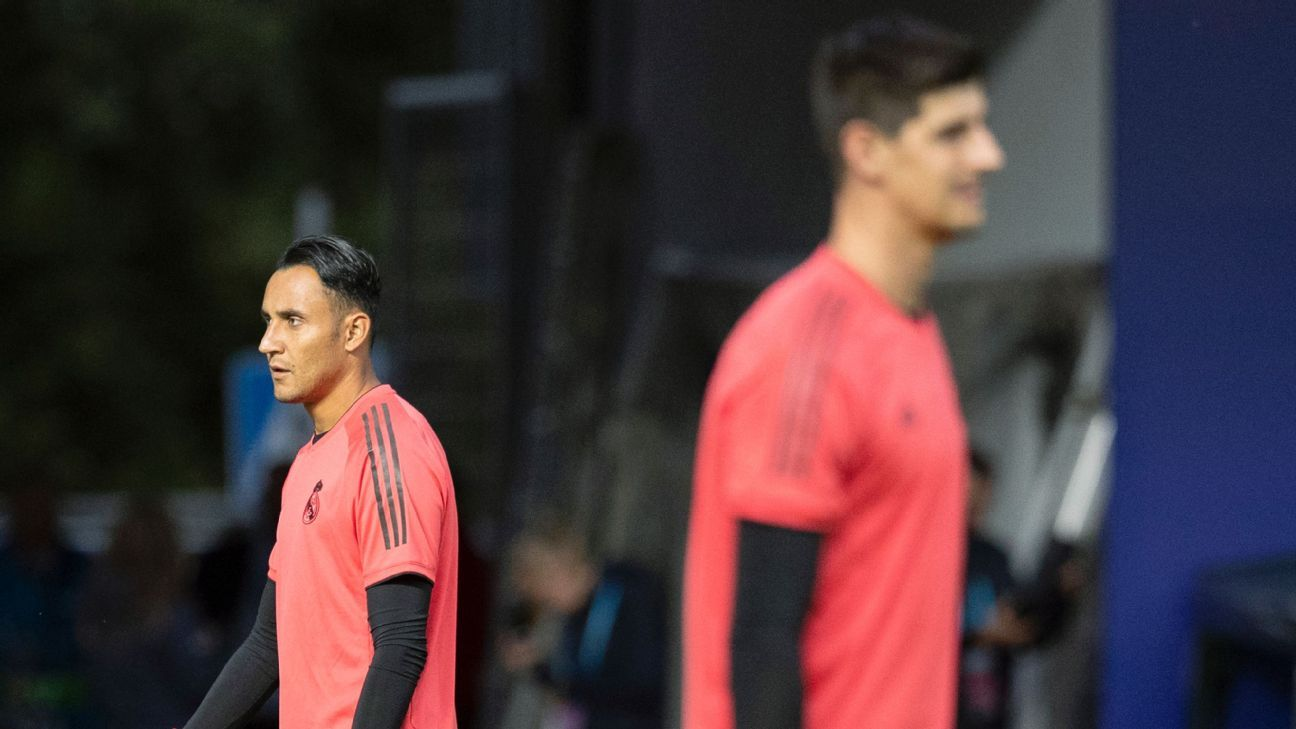 Real Madrid boss Julen Lopetegui says there is a plan on how to handle a tricky situation between goalkeepers Keylor Navas and Thibaut Courtois.