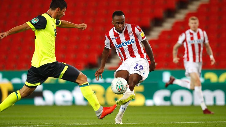 Saido Berahino scored his first goal in over two years on Tuesday.