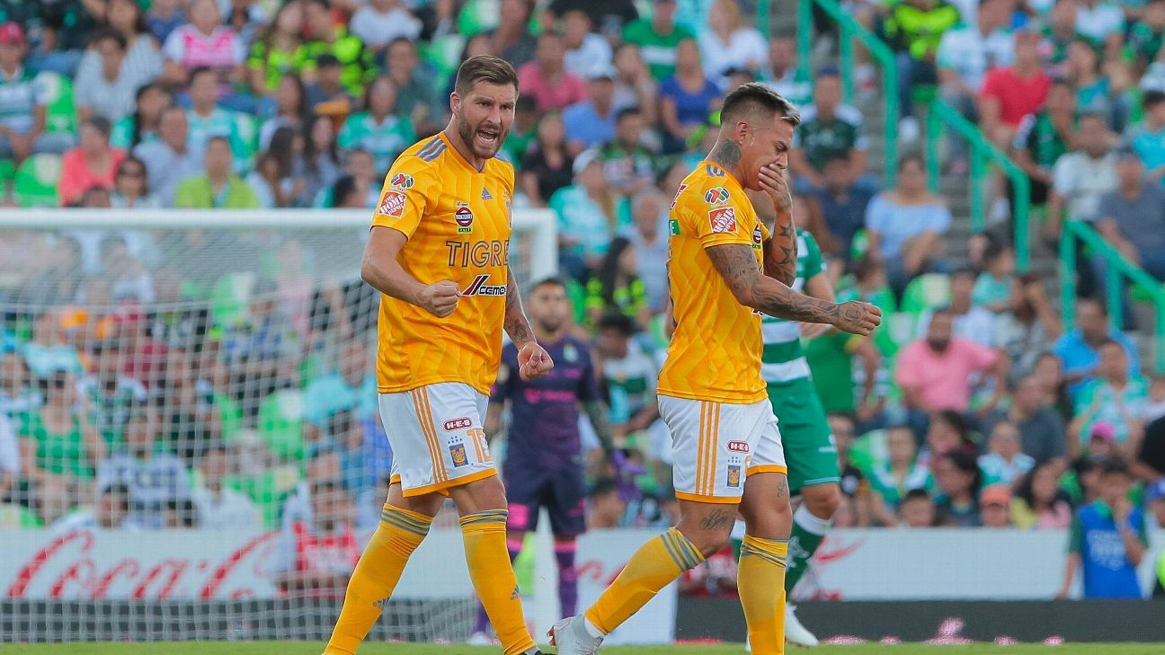 Tigres are currently ninth in the table but based on expected goals would be top of the table.