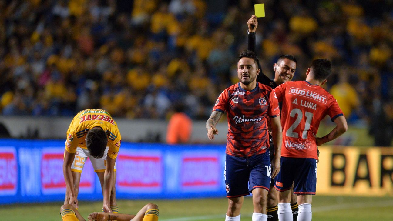 The expected goals model has Veracruz as the worst side in Liga MX by a full four points.