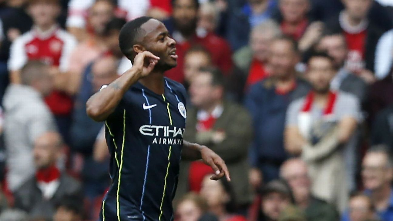 Raheem Sterling, not Eden Hazard, tops Real Madrid's wishlist next summer.