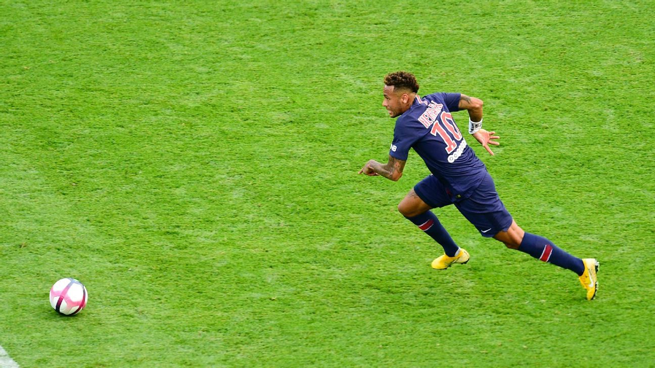 Neymar seems to be playing with renewed passion and focus this season with PSG.