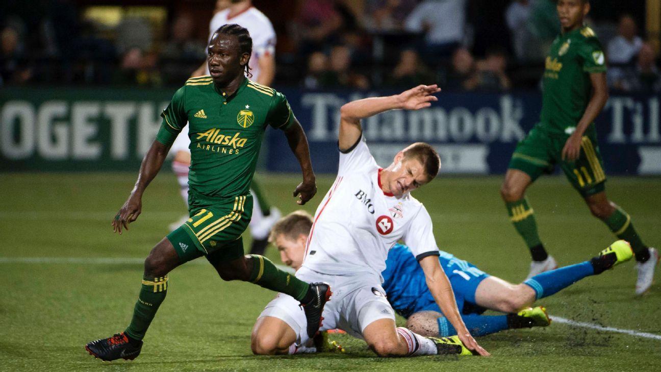 Portland Timbers blank Toronto FC, snap 4-game skid