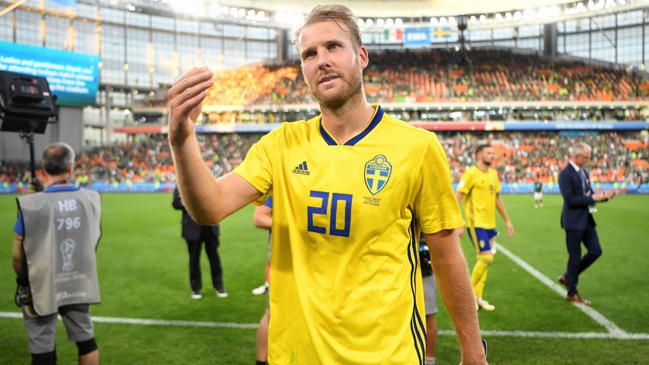 Ola Toivonen starred in Sweden's run to the World Cup quarterfinals.