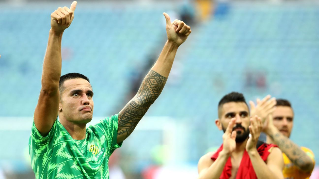 Tim Cahill is Australia's leading goal scorer and will mark his 108th appearance for the Socceroos on Nov. 20.
