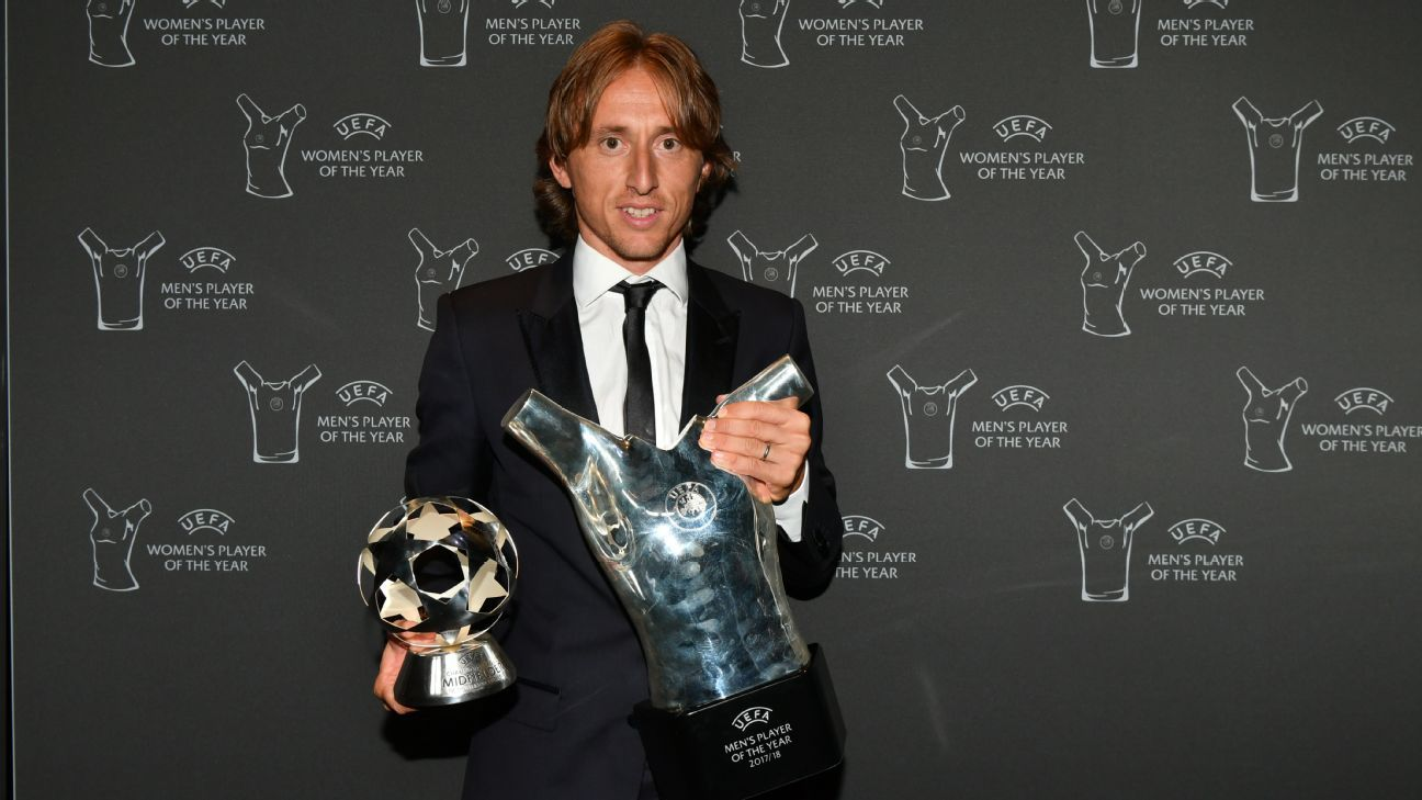 Modric is clearly a deserving winner of UEFA's individual awards despite the case of, in particular, Cristiano Ronaldo.